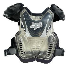 Fox Racing Clear Motocross Quad Chest Protector Gear Italy