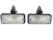 2x Rückfahrleuchte Rückfahrscheinwerfer 110x48x70 Gelenkhalter + Glühbirnen Set