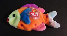 Ty Beanie Babies Tropical Fish Lips Polka-Dot Bean Bag Plush 1999