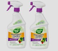2~ Garden Safe HOUSEPLANT & GARDEN Leaf-Eating Insect Killer 24 oz. HG-80422