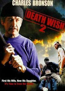 DEATH WISH 2 DVD (PAL, 1982) VGC, FREE POST