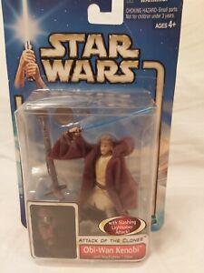 Star Wars Attack of The Clones - Obi-Wan Kenobi (Jedi Starfighter Pilot) Figure