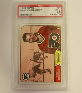 1968 Topps #94 Gary Dornhoefer  PSA 7.5