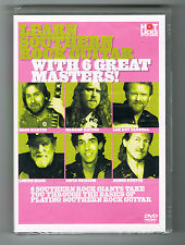LEARN SOUTHERN ROCK GUITAR WITH 6 GREAT MASTERS ! - DVD NEUF NEW NEU
