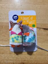 Whisker City - It Drives Me Wild - Catnip Cat Toy - Brand New Unopened (2-pack)