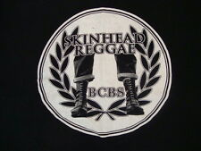 Skinhead Reggae BCBS Music Genre Artwork Logo Black T Shirt XL