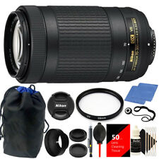 Nikon AF-P DX NIKKOR 70-300mm f/4.5-6.3G ED VR Lens with Deluxe Accessory Kit