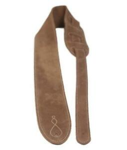 """LG """"The Comfy"""" X-Long Beige / Tan Suede Strap"""