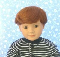 "/""BOB/"" Black Doll Wig Round Cap Size 7 NOS Baby Toddler Boy or Girl Etc"