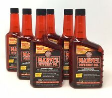 6 Marvel Mystery Oil 16 oz. Automotive & Marine Engines Gas or Diesel MM12R (K2)