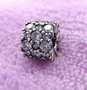 New Authentic Pandora Clear Sparkle Sterling Silver 925 ALE Charm 798487C01