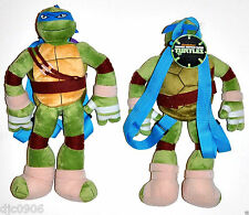 Leonardo Teenage Mutant Ninja Turtles Plush Backpack-Licensed by Nickelodeon-New
