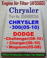 CHRYSLER 300(05-10) DODGE Challenger(08-11) QUALITY AIR FILTER AF5560 (^o^)/