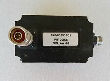 Wf-00038 920-00353-001 Band Pass Filter Rf Coaxial Powerwave