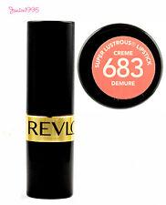 REVLON Super Lustrous Lipstick #683 DEMURE