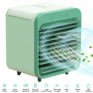 Portable Mini Air Conditioner Cooler Summer Space Cooling Artic Fan Humidifier
