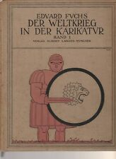 German Military Cartoons: Der Weltkrieg In Der Karikatur. By Fuchs, Munich, 1916