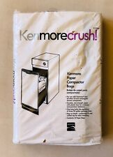 12 KENMORE Paper Compactor Bags #13350 New In Package NIP!
