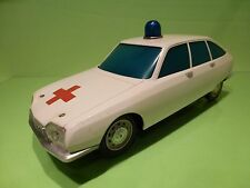 JOUSTRA FRANCE CITROEN GS AMBULANCE - WHITE L33.0cm - NICE CONDITION - BATTERY