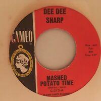 DEE  DEE  SHARP   45   SINGLE ,  SET  MY  HEART  AT  EASE /  MASHED POTATO  TIME