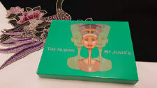 THE NUBIAN PALETTE by JUVIA'S PLACE 12 Shades EyeShadow Palette GREEN NIB