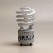 60 Watt Compact Fluorescent Light Bulbs GU24 CFL Lamps 13W/27K Spiral Twist