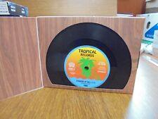 Retro Vinyl Bookends 70's 80's Record Books CD's Home Decor Novelty Gift