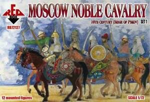 Red Box 1/72 Moscow Noble Cavalry 16th Century (Siege of Pskov) Set 1 # 72127