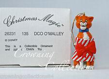 Grolier Thomas O'Malley The Aristocats Disney Ornament Christmas DCO Cat Omalley