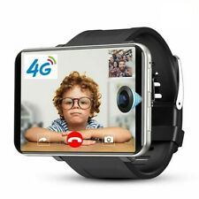 4G LTE Smart Watch Bluetooth Mini Table New Fashionable Black/Silver For Men
