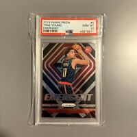 2018-19 Panini Prizm Trae Young Emergent PSA 10 #5 RC Rookie Card GEM MINT Hawks