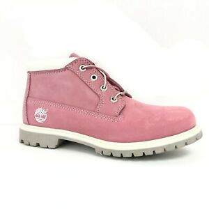 Timberland Women's Waterproof Nellie Chukka Double Pink Boots 23308