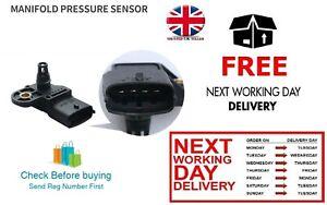 Manifold Air Pressure Map Sensor For Alfa 147 156 159 166 4C Brera Mito 1.9 JTD