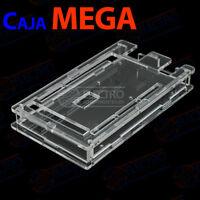 Caja Arduino MEGA 2560 carcasa acrilica transparente box case housing