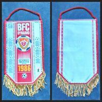 Orig. Wimpel BFC Dynamo Berlin DDR Meister 1986 DFV DDR Oberliga MfS Fussball