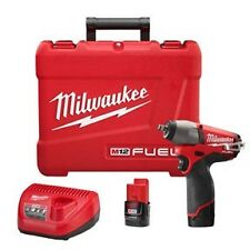 Milwaukee #2454-22  M12 FUEL 12V Cordless Lithium-Ion 3/8 in. Impact Wrench