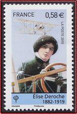 2010 FRANCE N°4504** Elise DEROCHE, Les pionniers de l'aviation, France 2010 MNH