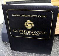 1985-1993 U.S. 1ST DAY COVERS COLLECTION ALBUM (ESP# F8996)