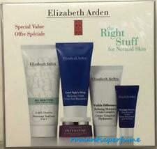 Elizabeth Arden Right Stuff for Normal Skin, Intervene, Visible Difference, Ect