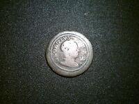 1719 GEORGE I BRITISH GB FARTHING COIN