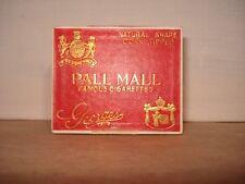 """Ancien Boite Vide de 10 cigarettes PALL MALL """"Georges"""""""