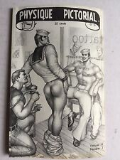 September 1967 Physique Pictorial Gay Men's Magazine w/ Tom of Finland Art Work