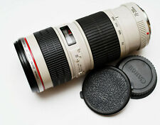 Lovely Canon EF 70-200 mm f/4 L Professional USM Zoom Telephoto Lens DSLR
