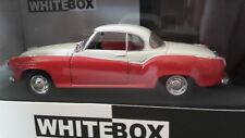 Borgward Isabella Coupé 1957 Rouge / Blanc 1/43 WhiteBox. WB128.