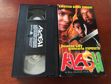 RARE KLASH VHS VIDEO OOP JASMINE GUY SHABBA RANKS PATRA COBRA NINJA MAN REGGAE
