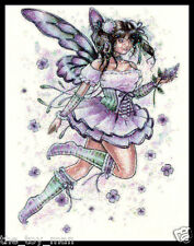 GLITTER PURPLE FLOWER FAIRY ANGEL BUTTERFLY WINGS TEMPORARY TATTOO FOR WOMEN