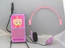 Vintage Kenner 1984 Hugga Bunch dolls radio / headphones, functional, rare!