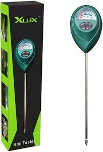 XLUX T10 Soil Moisture Sensor Meter Soil Water Monitor Hydrometer for Gardening