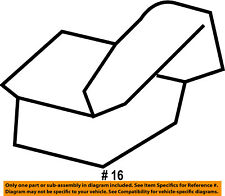 FORD OEM Front Bumper-Valance Nut W715051S439
