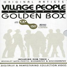 THE VILLAGE PEOPLE - GOLDEN BOX NEW REGION 2 DVD
